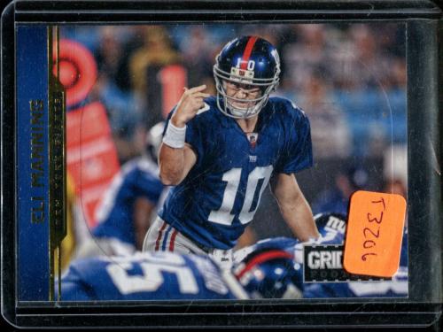 2012 Gridiron Gold O's #125 Eli Manning