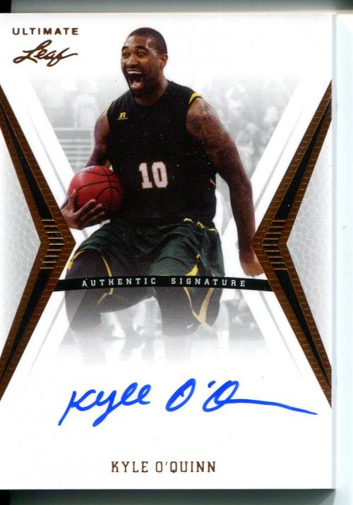 2012-13 Leaf Ultimate #KOQ Kyle O'Quinn