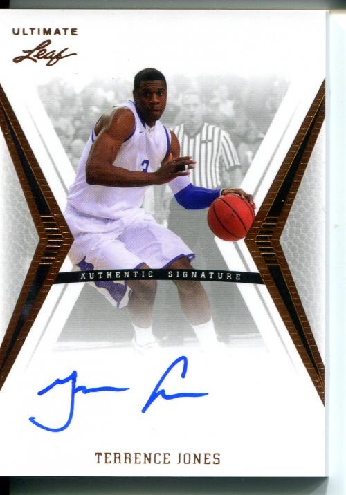 2012-13 Leaf Ultimate #TJ1 Terrence Jones