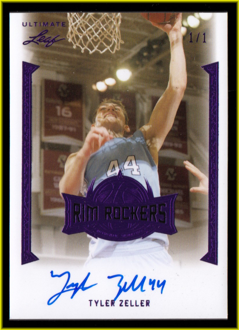 2012-13 Leaf Ultimate Rim Rockers Purple #TZ2 Tyler Zeller