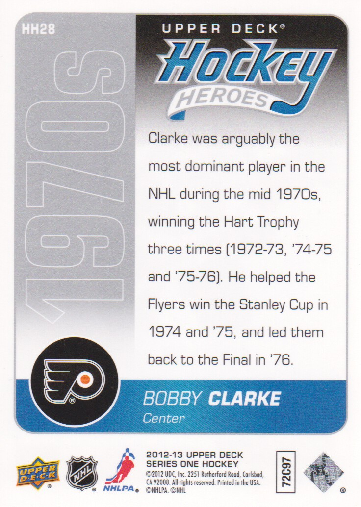 2012-13-Upper-Deck-Inserts-Hockey-Cards-Pick-From-List miniature 13