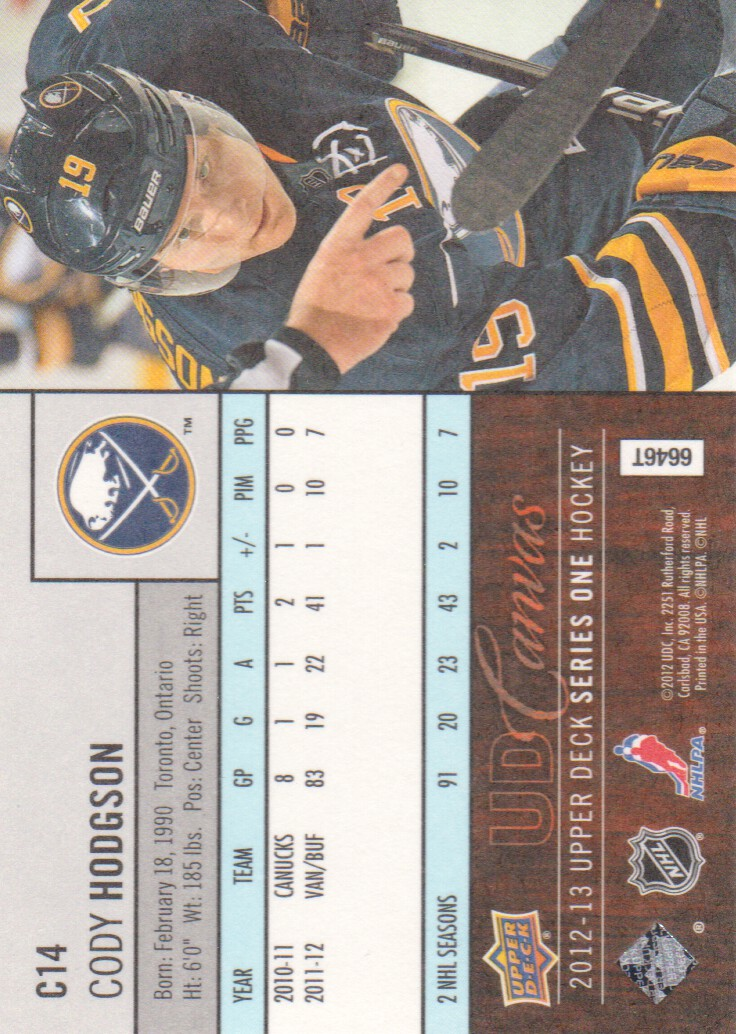2012-13-Upper-Deck-Inserts-Hockey-Cards-Pick-From-List miniature 3