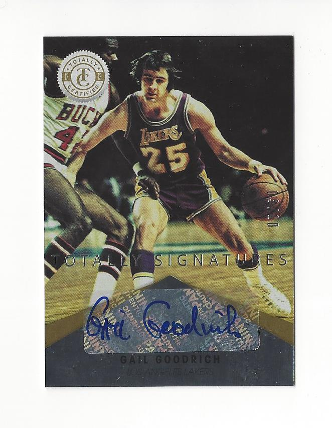 2012-13 Totally Certified Gold Autographs #93 Gail Goodrich