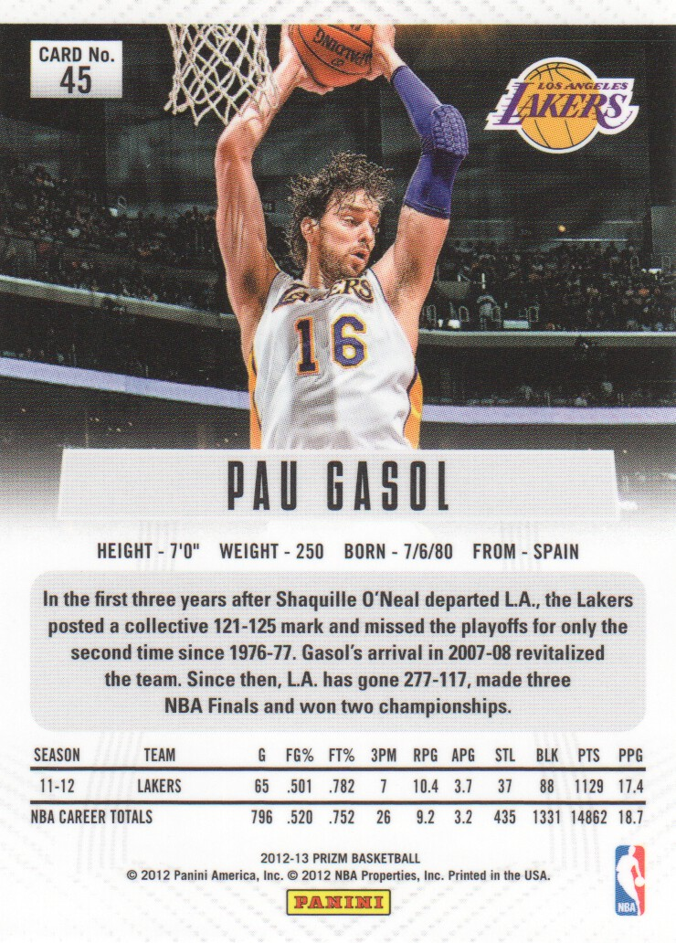 2012-13-Panini-Prizm-Basketball-Cards-1-250-Pick-From-List thumbnail 81