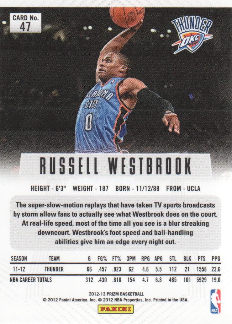 2012-13-Panini-Prizm-Basketball-Cards-1-250-Pick-From-List thumbnail 85