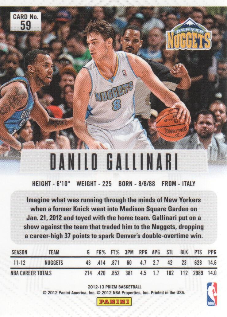 2012-13-Panini-Prizm-Basketball-Cards-1-250-Pick-From-List thumbnail 107