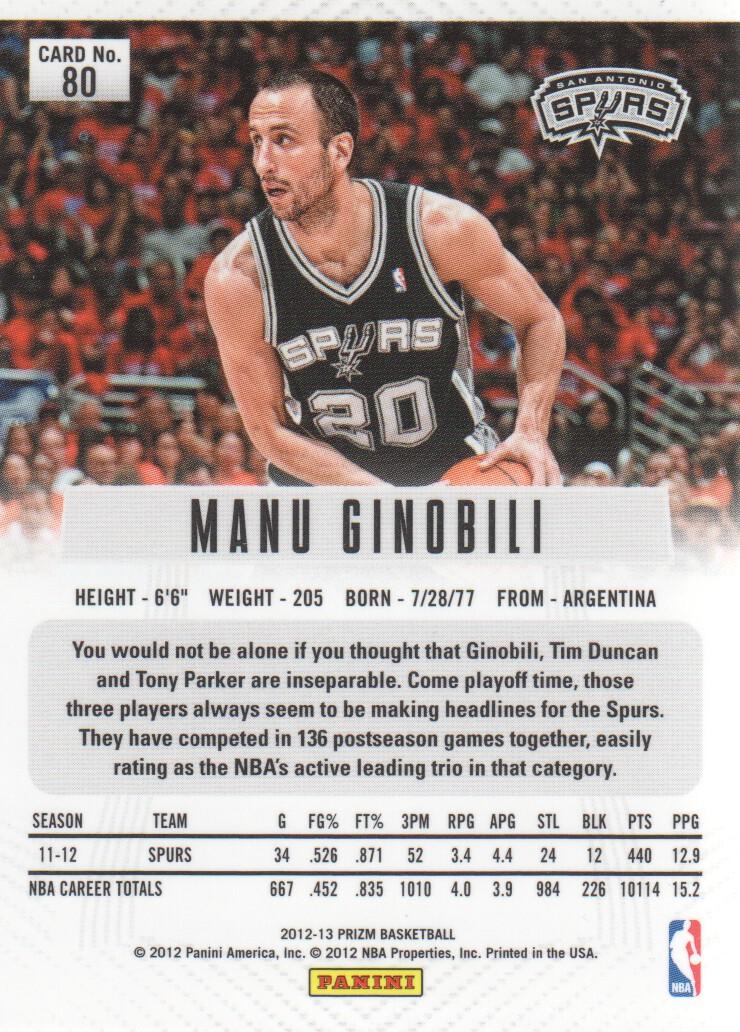 2012-13-Panini-Prizm-Basketball-Cards-1-250-Pick-From-List thumbnail 143