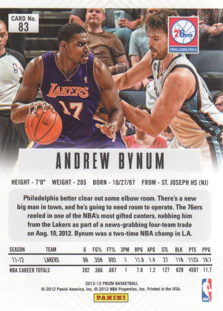 2012-13-Panini-Prizm-Basketball-Cards-1-250-Pick-From-List thumbnail 149