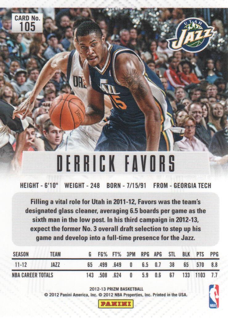 2012-13-Panini-Prizm-Basketball-Cards-1-250-Pick-From-List thumbnail 191