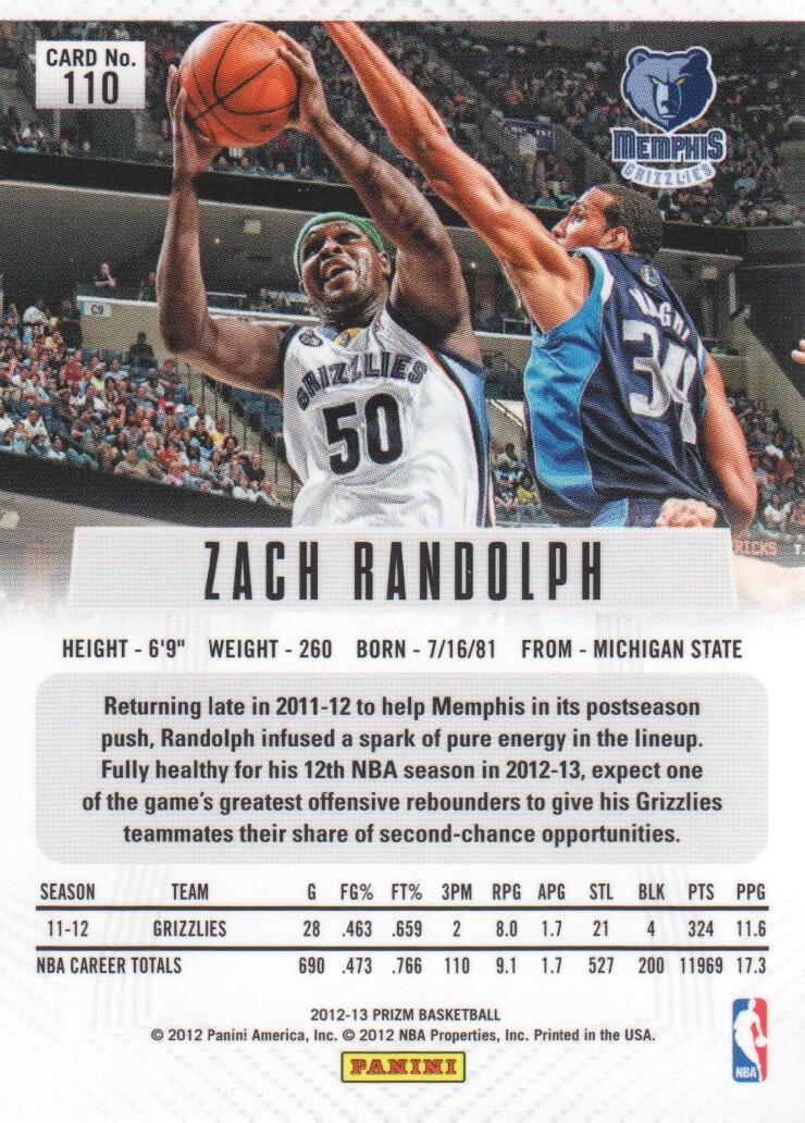 2012-13-Panini-Prizm-Basketball-Cards-1-250-Pick-From-List thumbnail 201