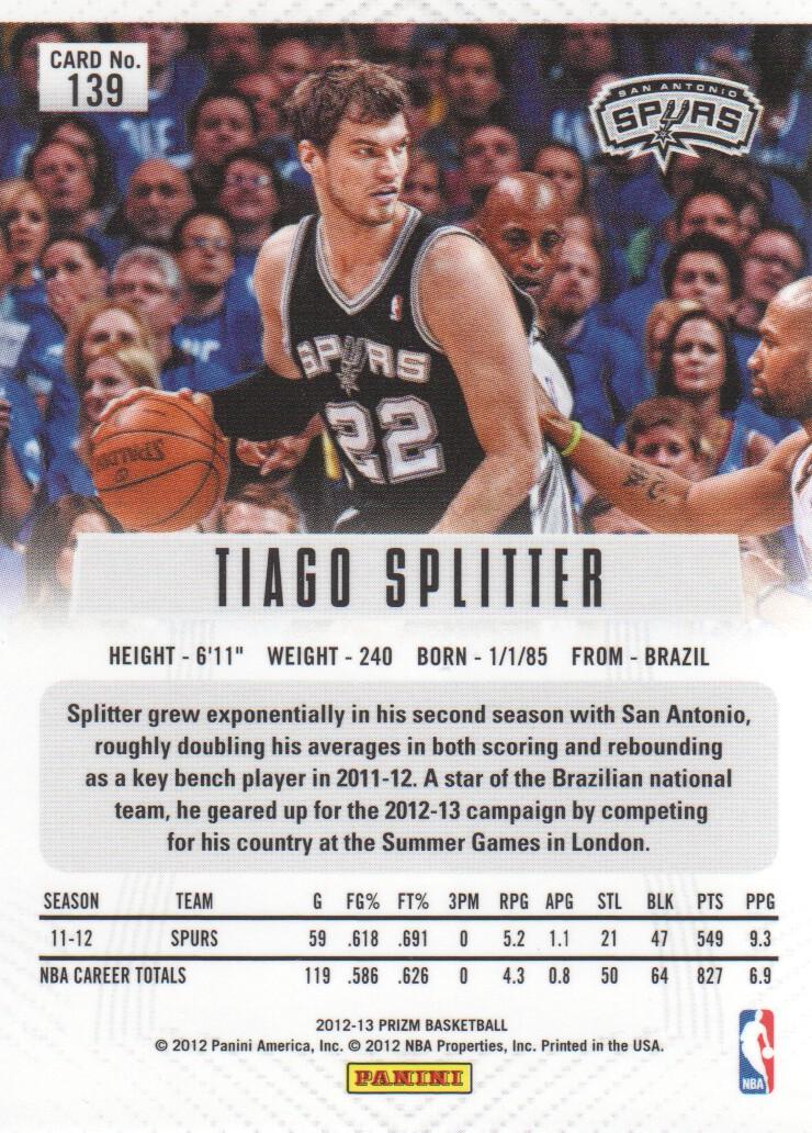 2012-13-Panini-Prizm-Basketball-Cards-1-250-Pick-From-List thumbnail 259