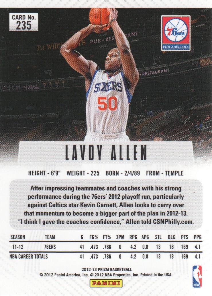 2012-13-Panini-Prizm-Basketball-Cards-1-250-Pick-From-List thumbnail 425