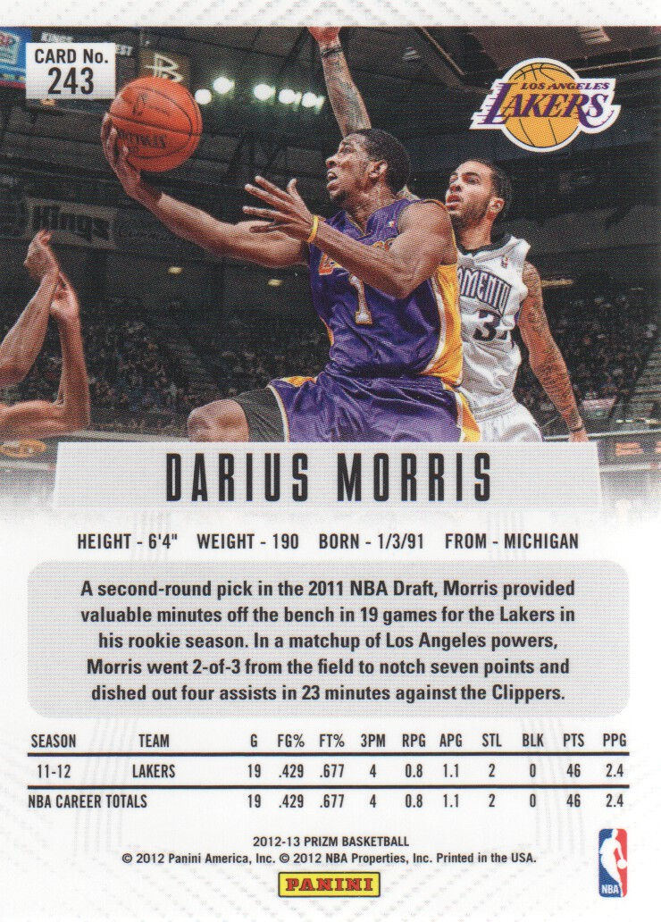 2012-13-Panini-Prizm-Basketball-Cards-1-250-Pick-From-List thumbnail 431