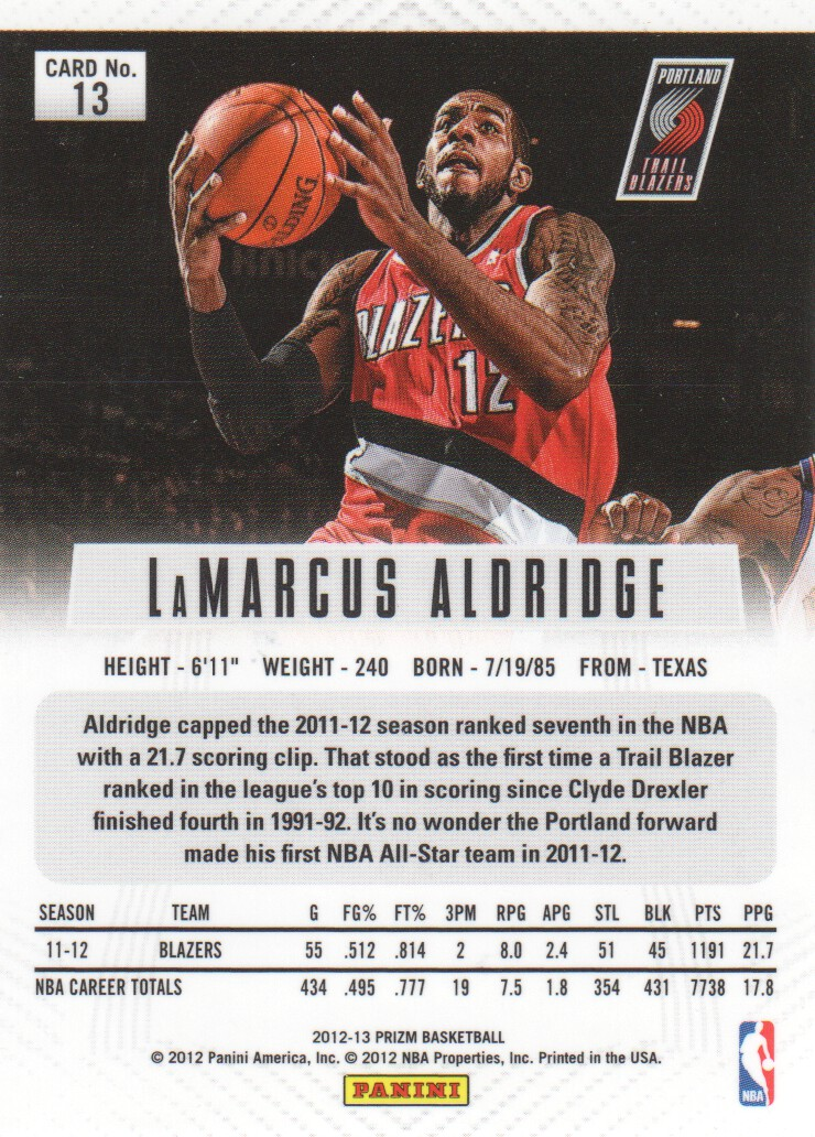 2012-13-Panini-Prizm-Prizms-Parallel-Basketball-Cards-Pick-From-List thumbnail 9