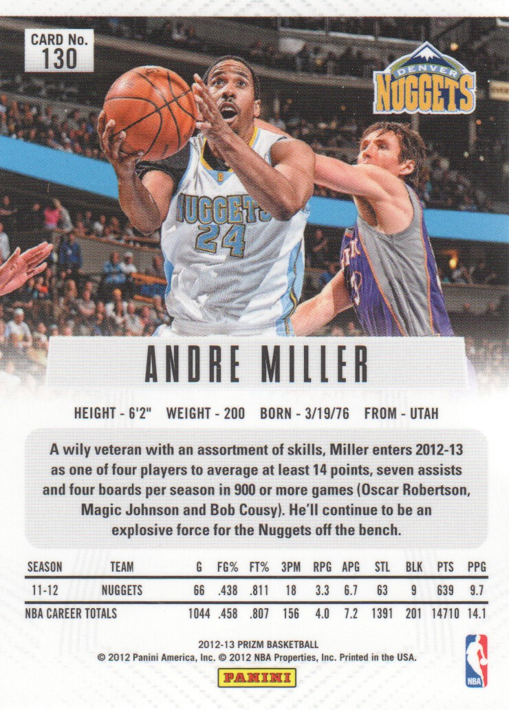 2012-13-Panini-Prizm-Prizms-Parallel-Basketball-Cards-Pick-From-List thumbnail 65