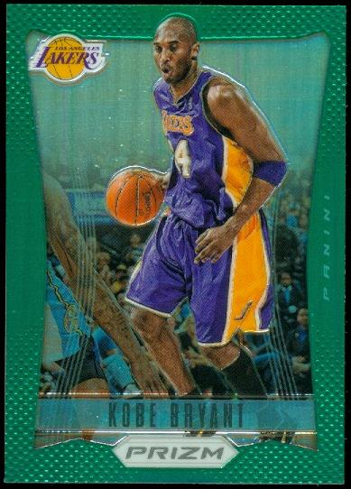 2012-13 Panini Prizm Prizms Green #24 Kobe Bryant