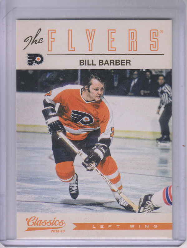 2012-13 Classics Signatures #4 Bill Barber
