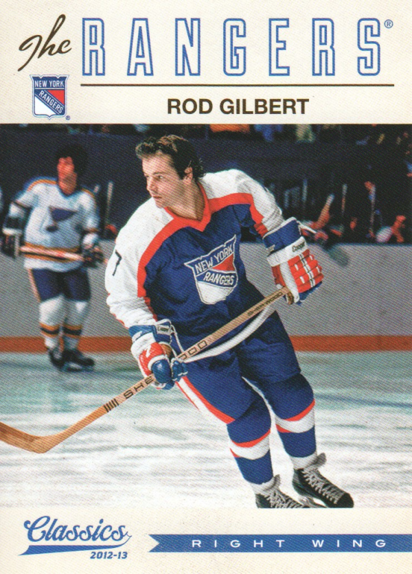 2012-13 Classics Signatures #78 Rod Gilbert