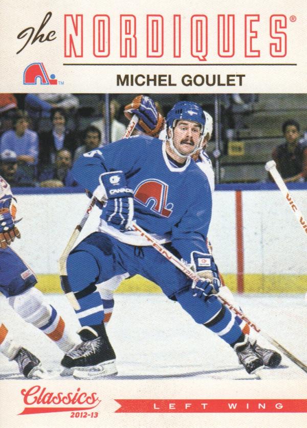 2012-13 Classics Signatures #86 Michel Goulet