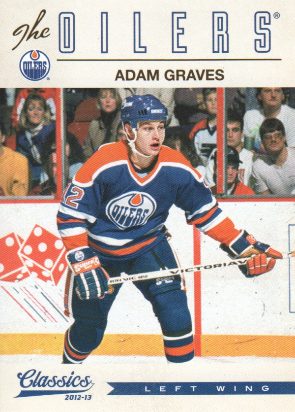2012-13 Classics Signatures #98 Adam Graves