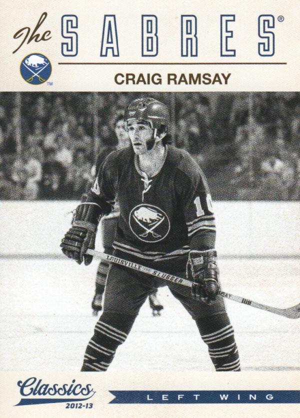 2012-13 Classics Signatures #121 Craig Ramsay