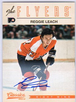 2012-13 Classics Signatures Autographs #16 Reggie Leach