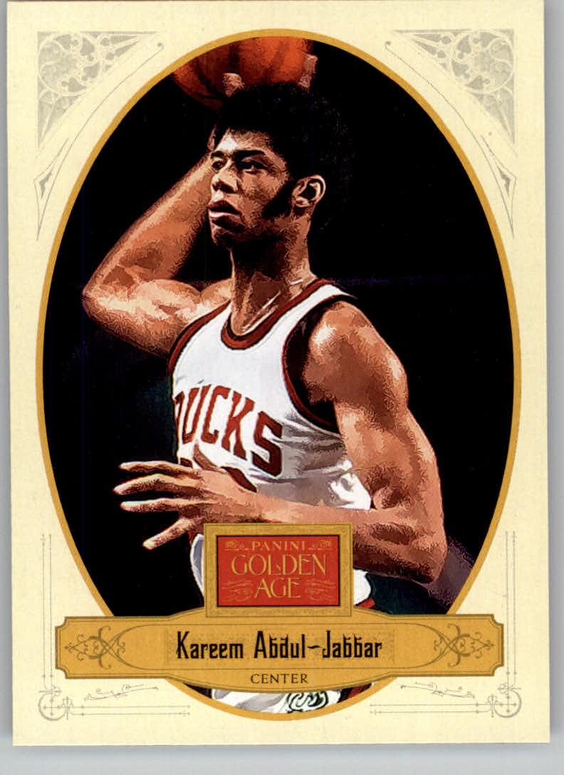 2012 Panini Golden Age #131 Kareem Abdul-Jabbar