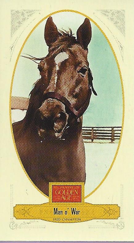 2012 Panini Golden Age Mini Ty Cobb Tobacco #20 Man o' War