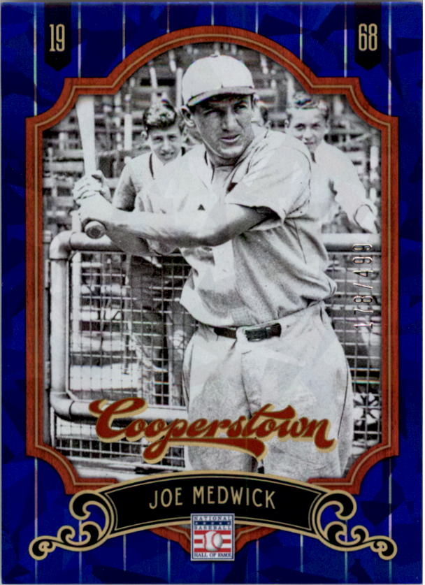 2012 Panini Cooperstown Crystal Collection Blue #88 Joe Medwick