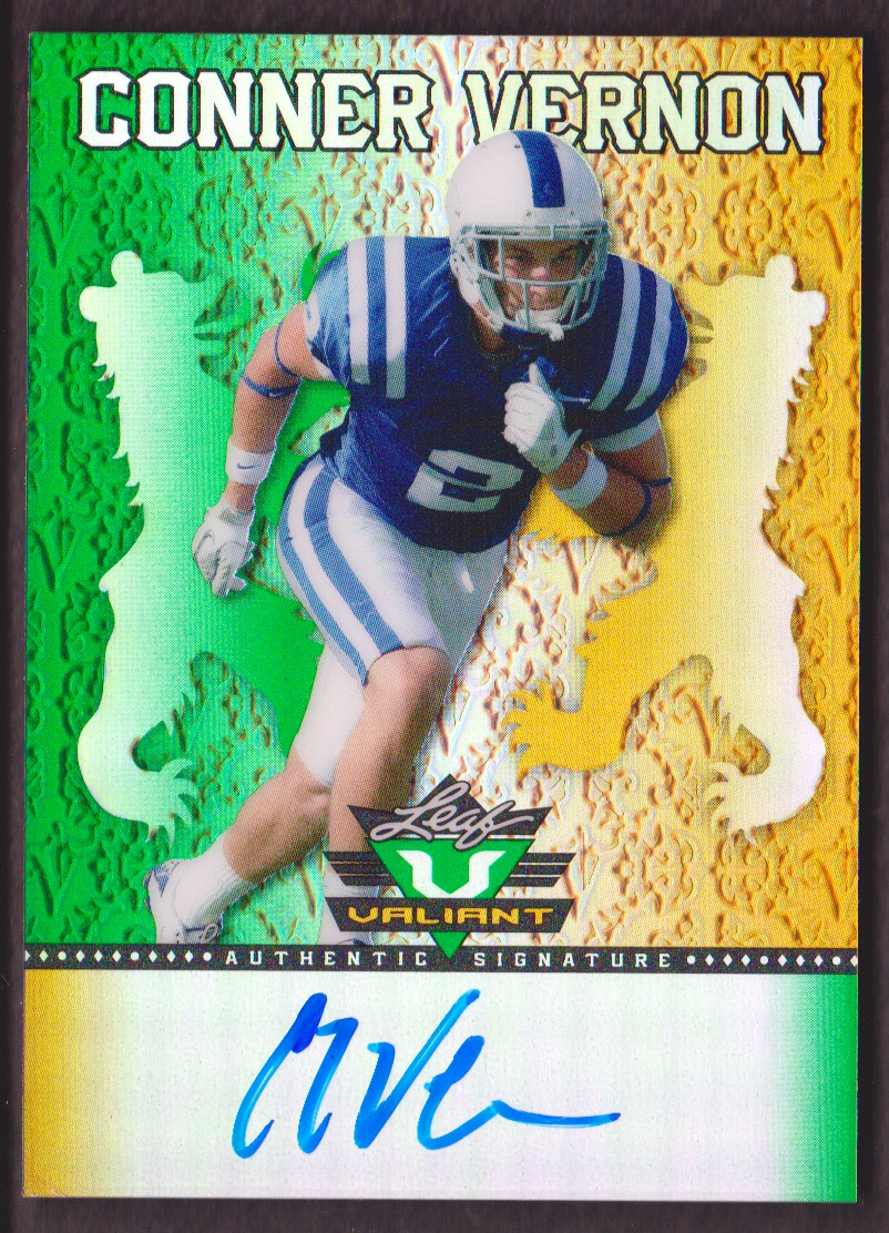 2013 Leaf Valiant Draft #BACV1 Conner Vernon