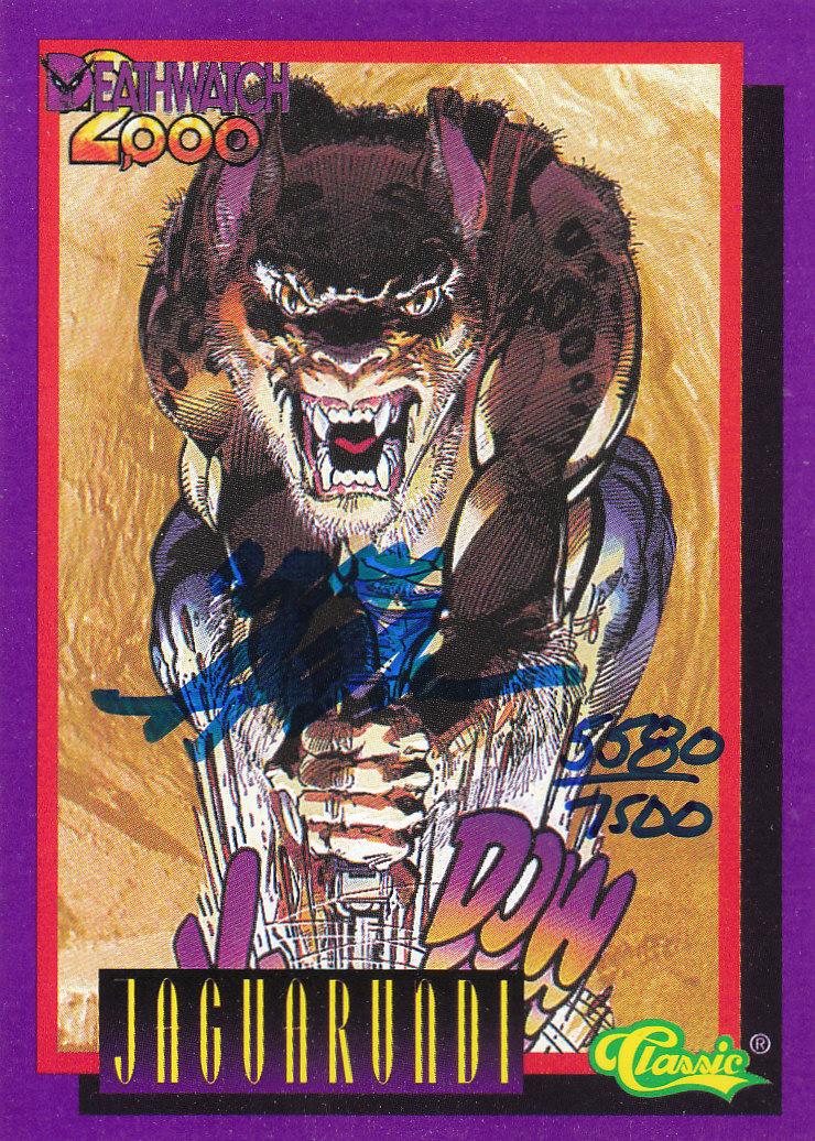 1993 Deathwatch 2000 #NNO Neal Adams AU/7500/(Jaguarundi)