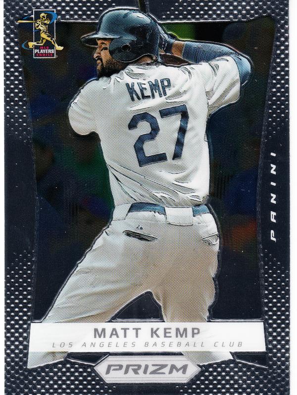 2012 Panini Prizm #3 Matt Kemp