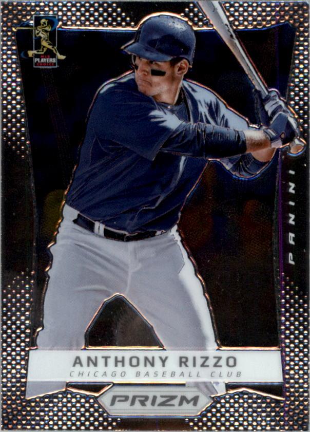 2012 Panini Prizm #28 Anthony Rizzo