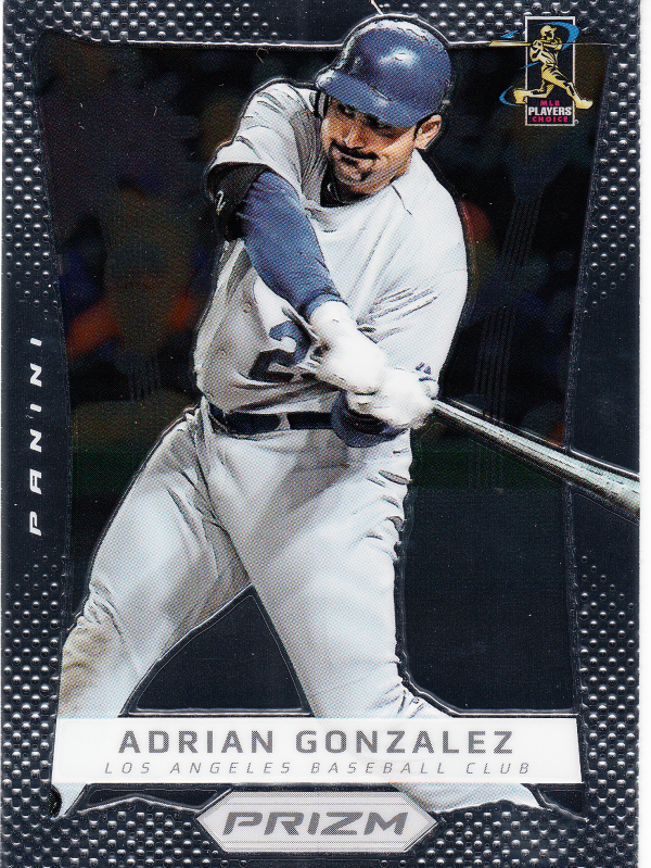 2012 Panini Prizm #39 Adrian Gonzalez