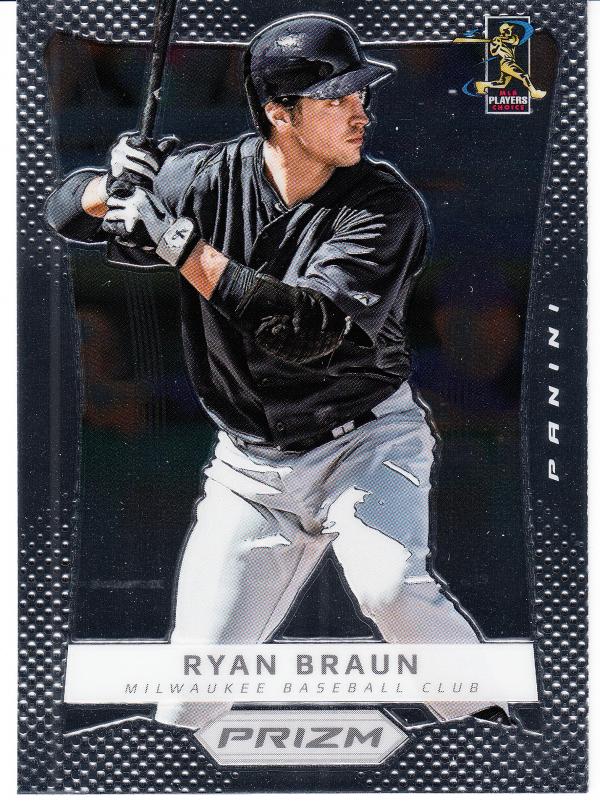 2012 Panini Prizm #45 Ryan Braun