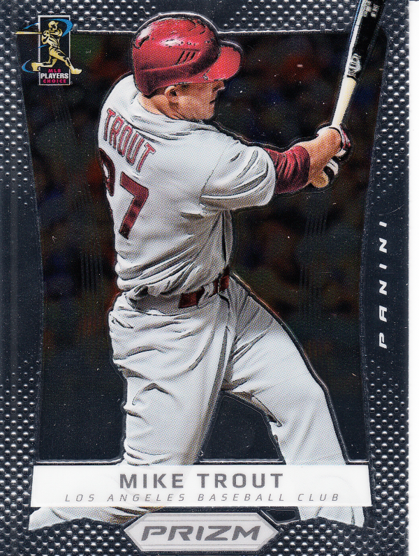 2012 Panini Prizm #50 Mike Trout