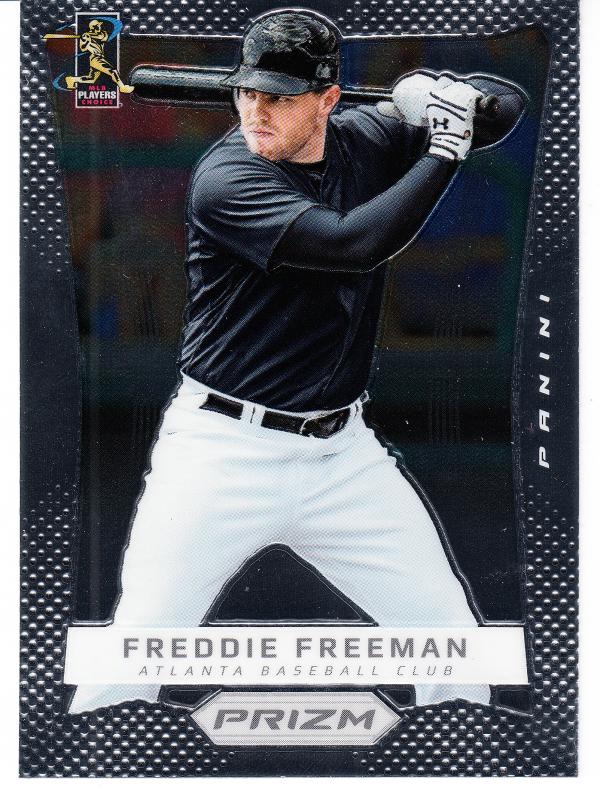 2012 Panini Prizm #54 Freddie Freeman