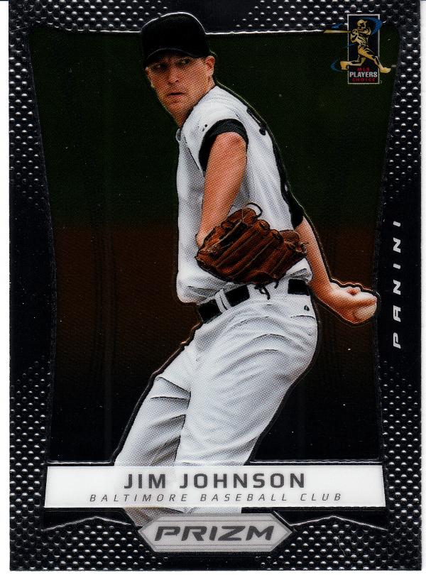 2012 Panini Prizm #77 Jim Johnson
