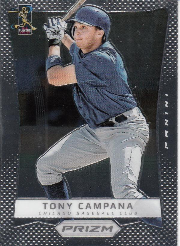 2012 Panini Prizm #95 Tony Campana