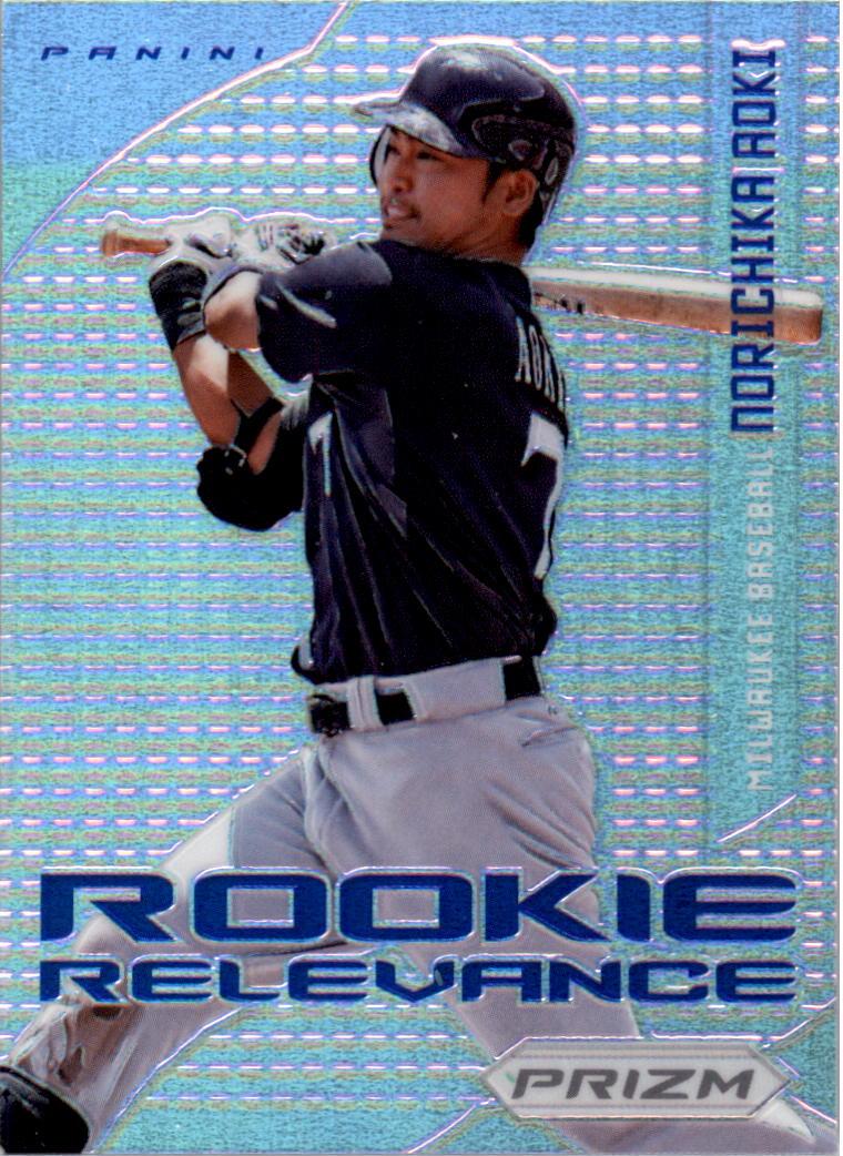 2012 Panini Prizm Rookie Relevance Prizms #RR11 Norichika Aoki