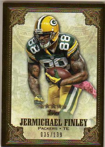 2012 Topps Five Star #51 Jermichael Finley