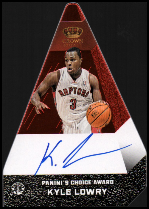 2012-13 Panini Preferred #37 Kyle Lowry PC AU/74
