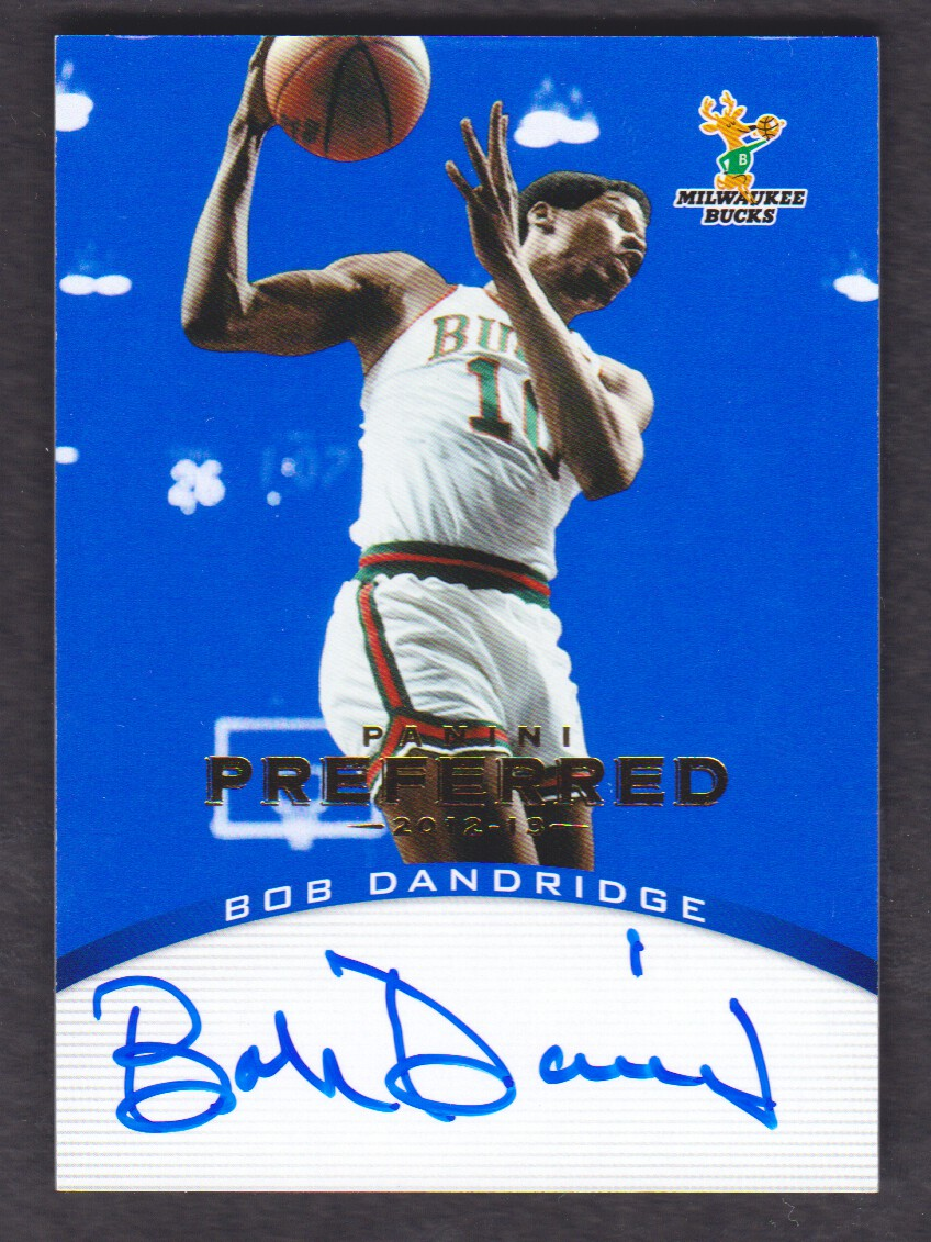2012-13 Panini Preferred Blue #112 Bob Dandridge PS AU/49