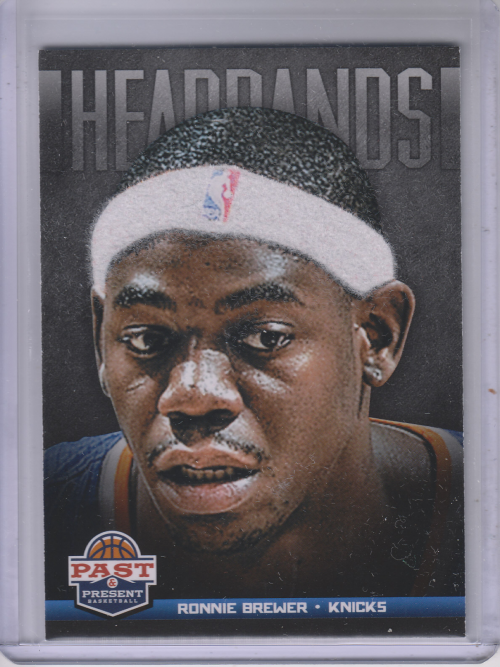 2012-13 Panini Past and Present Headbands #5 Ronnie Brewer