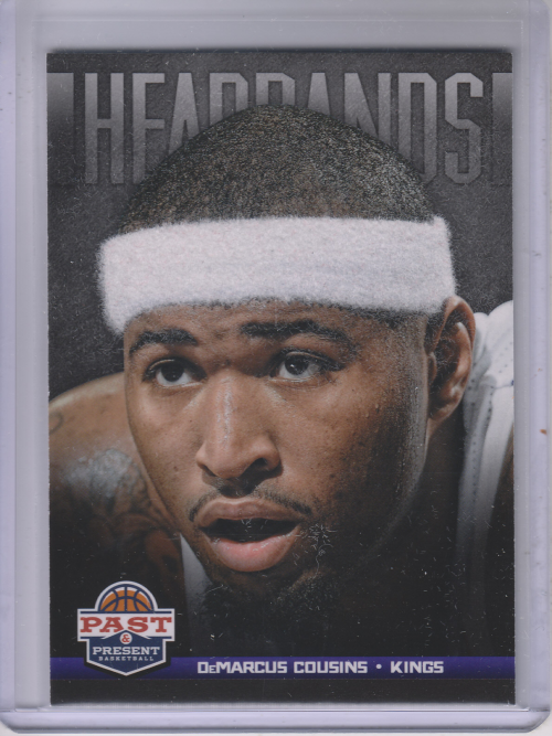 2012-13 Panini Past and Present Headbands #14 DeMarcus Cousins