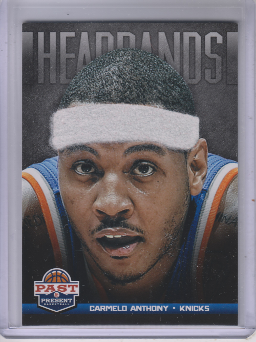 2012-13 Panini Past and Present Headbands #16 Carmelo Anthony