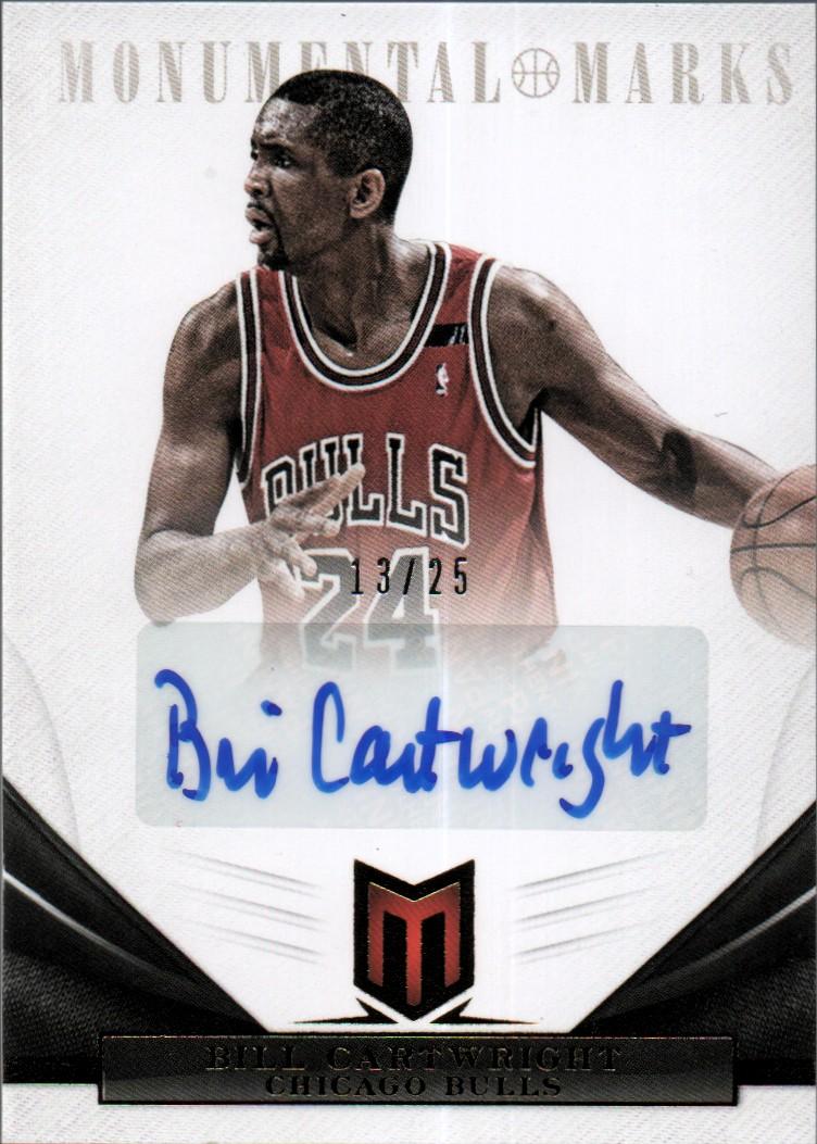 2012-13 Momentum Monumental Marks #96 Bill Cartwright/25