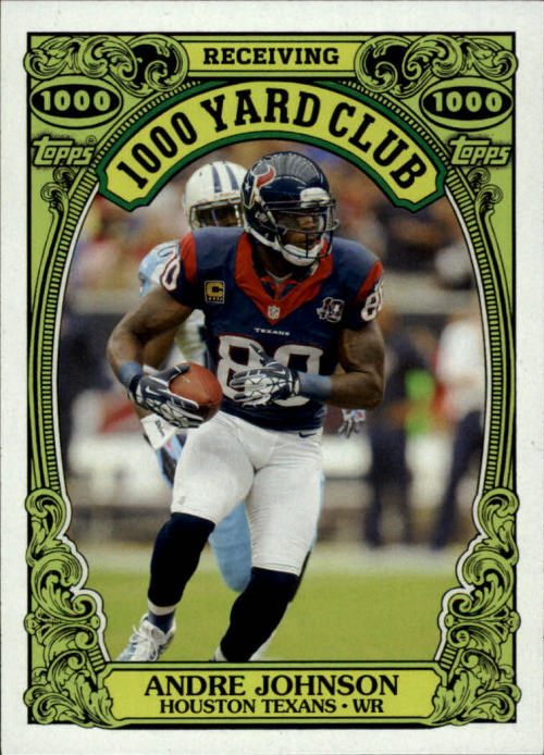 2013 Topps Archives 1000 Yard Club #4 Andre Johnson