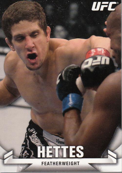 2013 Topps UFC Knockout #59 Jimy Hettes