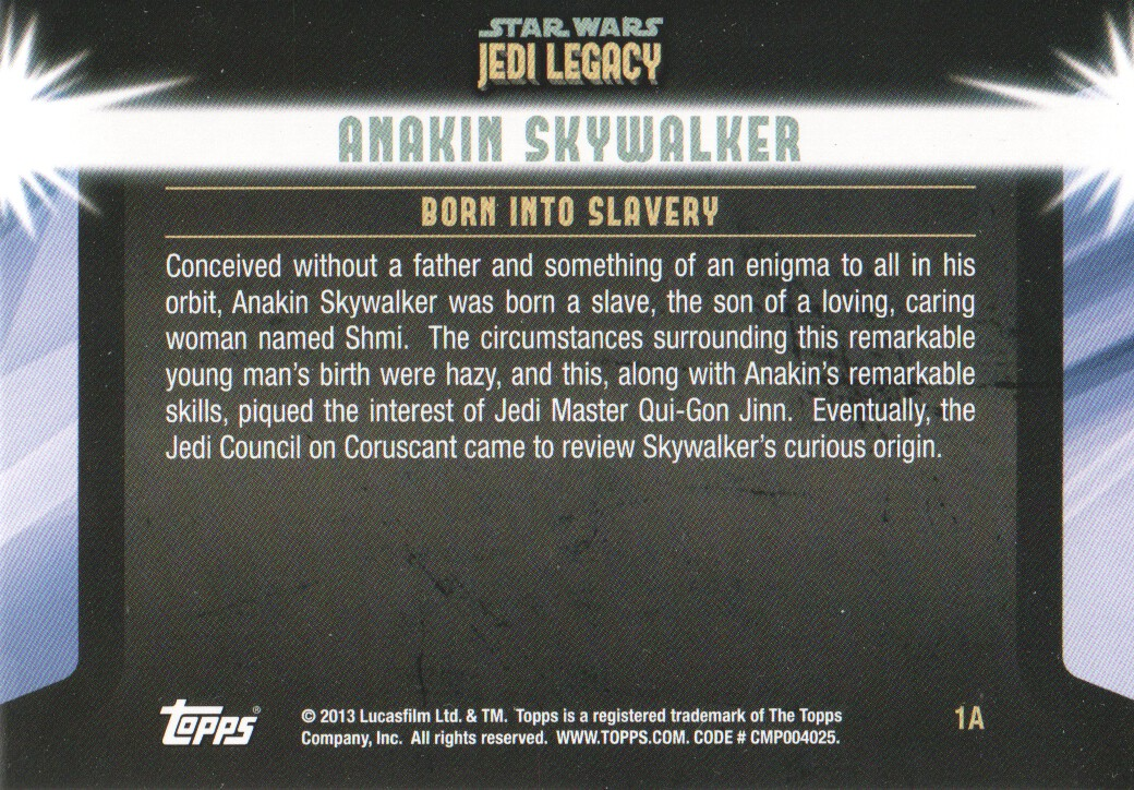 2013-Topps-Star-Wars-Jedi-Legacy-Parallels-Trading-Cards-Pick-From-List miniature 3